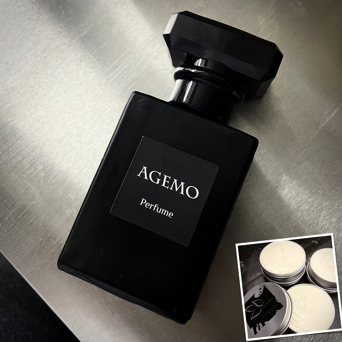Agemo Soap:沉香木香水$198 (原價$228);沉木剃鬚膏$55(原價$68)
