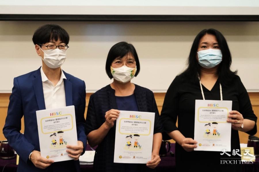 中大發現香港學生身心健康狀況遠低於國際水平