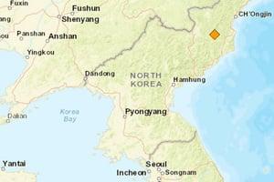 北韓5.3級地震 疑是第五次核試驗