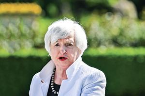 耶倫:美今年通脹率將達3% 只是暫時性