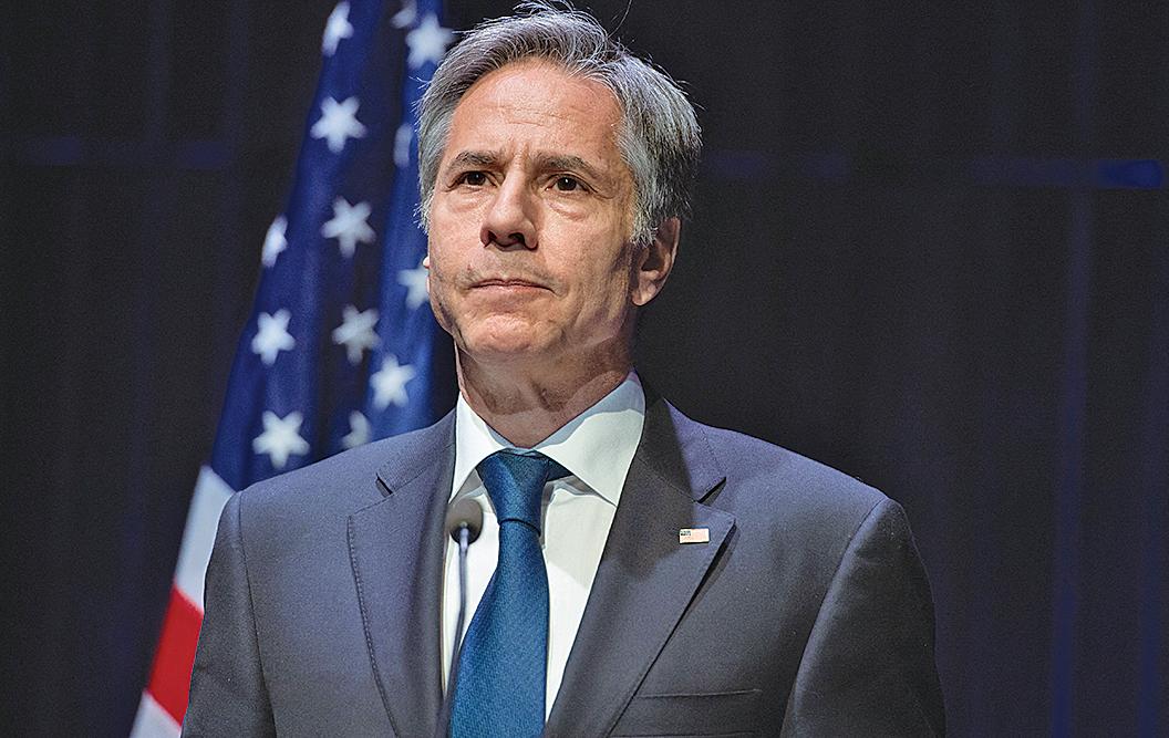美國國務卿布林肯(Antony Blinken)。(Getty Images)