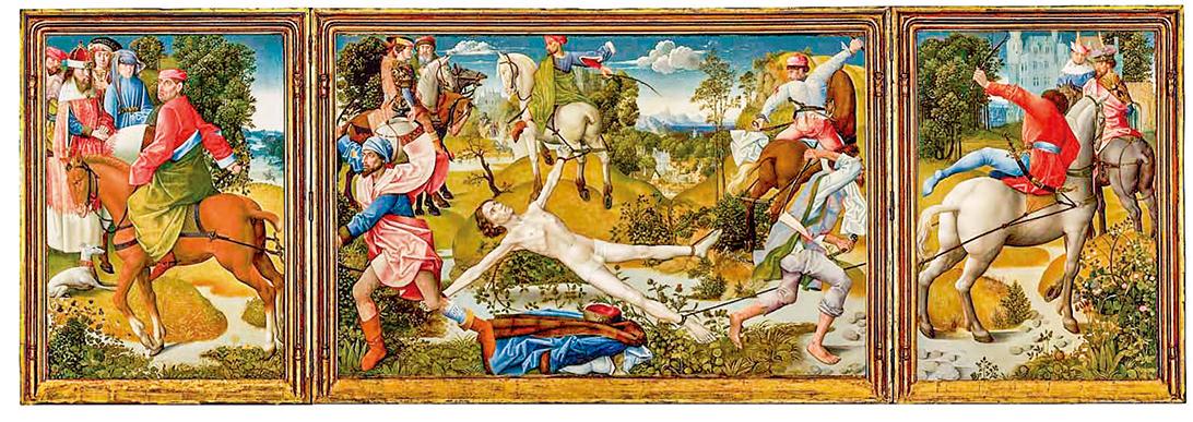 聖勞倫斯殉道。( 公有領域)