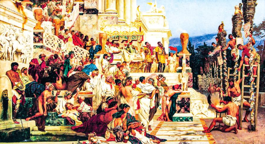 歷史上的瘟疫 瘟疫中走向衰亡的羅馬帝國 (下)