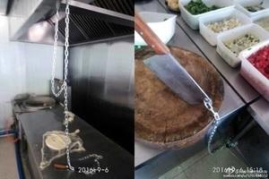 新疆反恐升級 飯店菜刀鎖鐵鏈