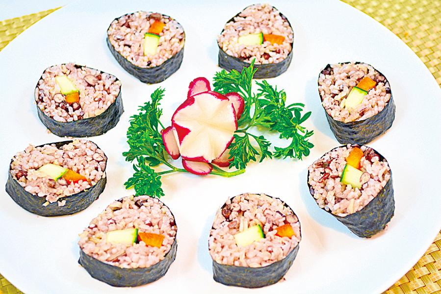 【梁廚寶櫃】紅豆紫菜飯糰