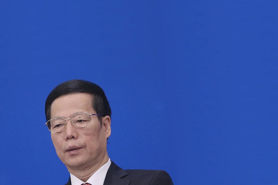 山東省曾是江派常委張高麗主政6年的省份,張曾緊隨江澤民迫害法輪功而躋身中共常委之列。(Feng Li/Getty Images)