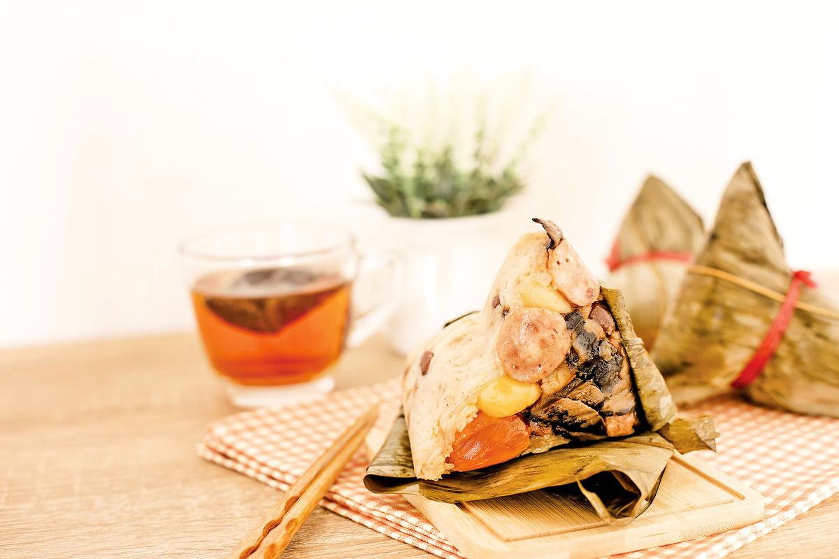 雜粽在南北朝時代是南土珍寶。(shutterstock)