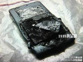 小米手機一周兩宗爆炸起火 房間被燒燬