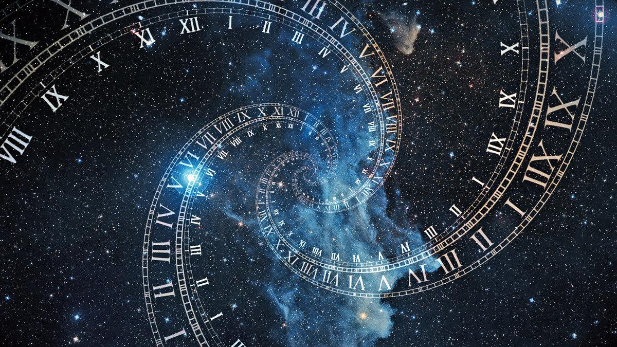 各個時間空間中存在的不同信息,在宇宙中是同時存在的。示意圖。(Shutterstock)