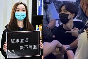 6.12前夕|賢學思政成員被捕 陳枳森:警方將街站「屈」成一個集結