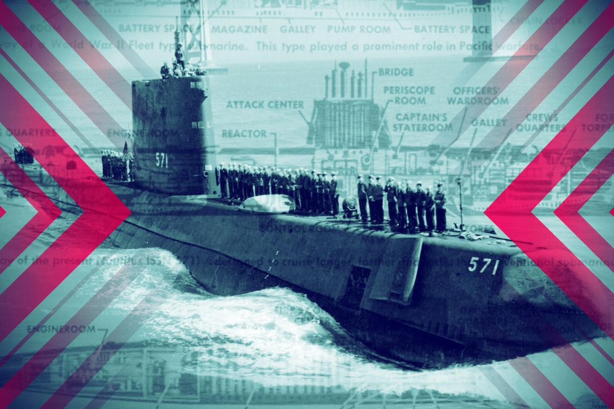 美國核潛艇有多厲害,11年前曾幫助美國穩定了一場危機,今天很少人還記得。(大紀元製圖)