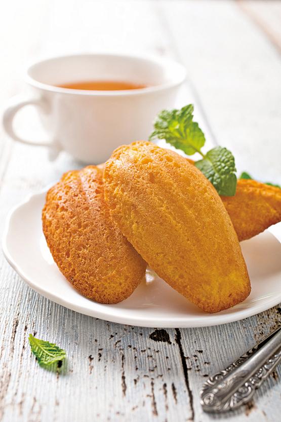 適合搭配格雷伯爵茶的瑪德蓮蛋糕。