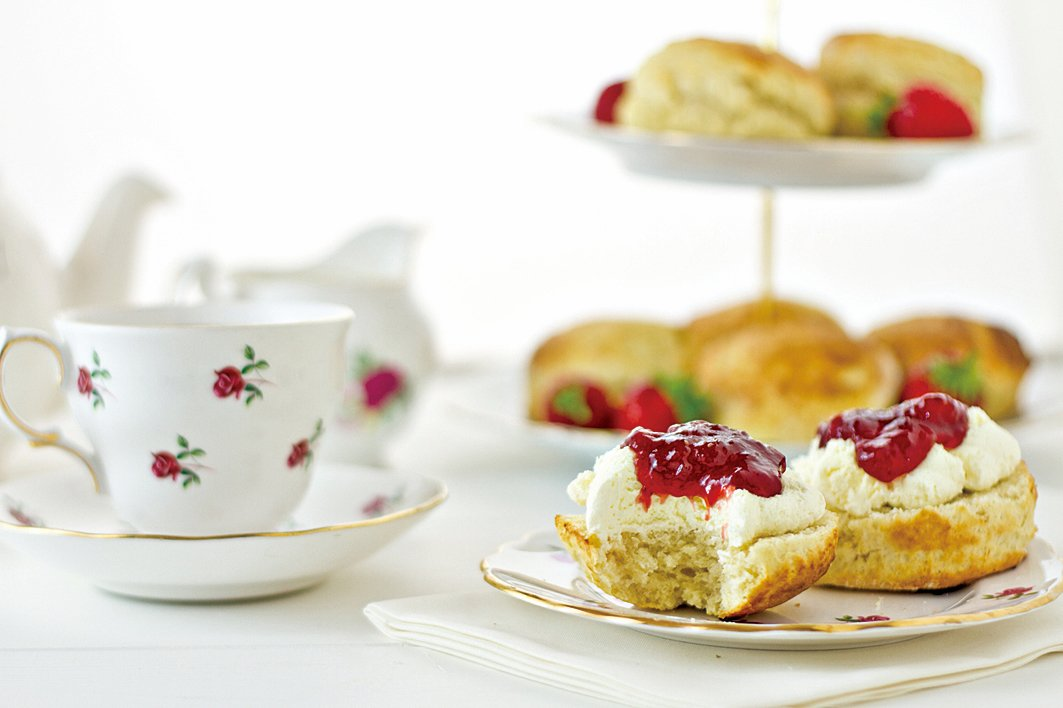 英式下午茶中的「英國鬆餅」。