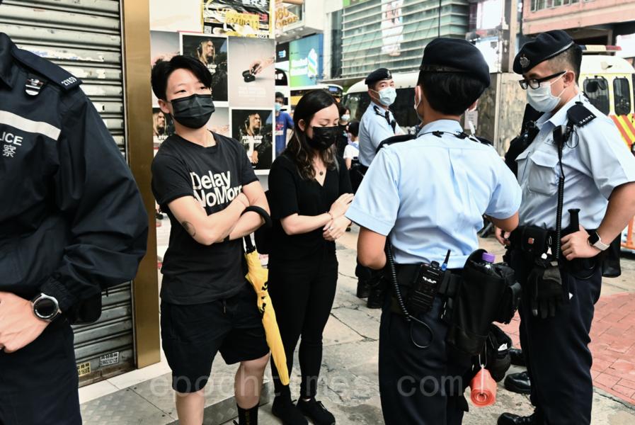 6.12大量警力封鎖銅鑼灣 黑衣黑褲被針對