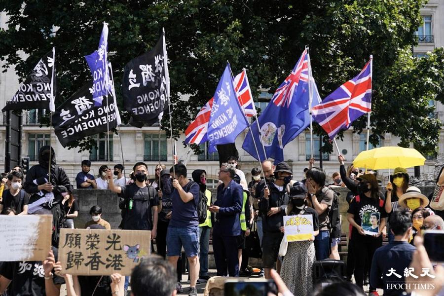 【直播】612兩周年 倫敦3千人集會遊行英多名議員出席撐港人(不斷更新)