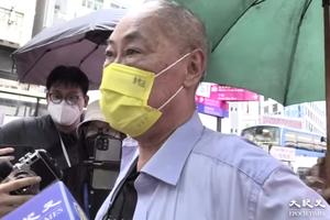612兩周年|七旬翁戴F.D.N.O.L.黃口罩 銅鑼灣行街遭警截查