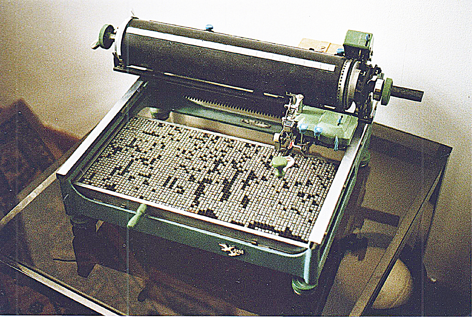 史丹福大學副教授穆蘭尼將中文打字機譽為揭開智能手機時代的先鋒。(維基百科)