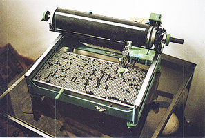 古董中文打字機的奧秘