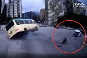 【突發有片】沙田大涌橋路致命交通意外 小巴司機當場死亡