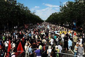 匈牙利民眾抗議設復旦分校計劃 政府或改變主意