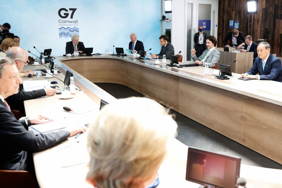 G7峰會在英國展開 「中國問題」成焦點