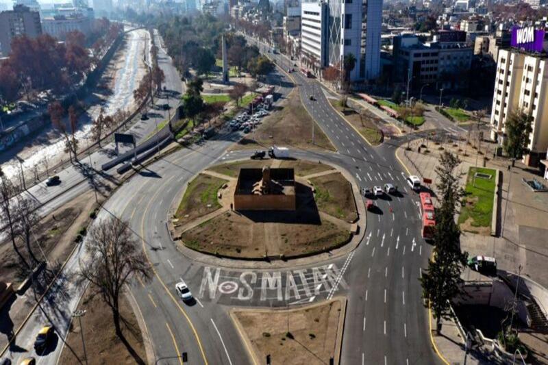 接種中國疫苗疫情急升 智利首都再度封城