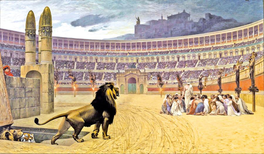 名畫中羅馬帝國的正邪較量與大瘟疫 (上)