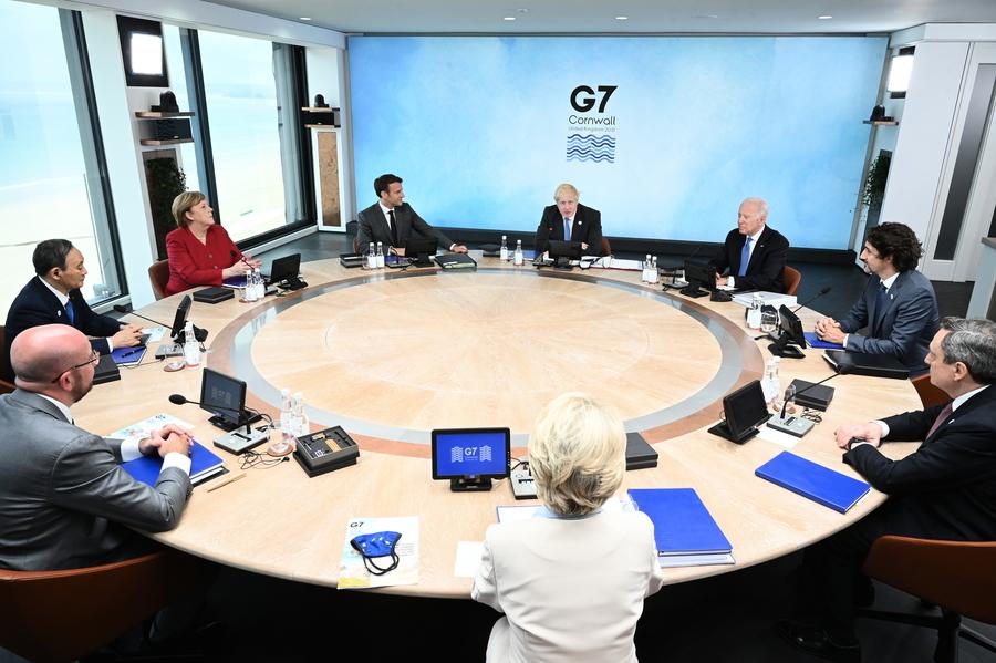G7首次公開批中共 強調民主價值觀【影片】