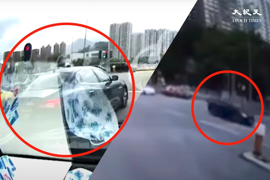 沙田大涌橋路致命交通意外 白私家車前黑色兩地車司機被捕