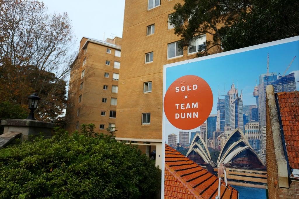 澳洲統計局今(6月15日)公佈第一季樓價按季上升5.4%,創歷史新高。(Lisa Maree Williams/Getty Images)