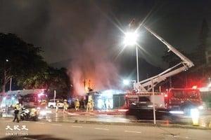 【更新】黃竹坑新圍村火警 出動1喉1煙帽