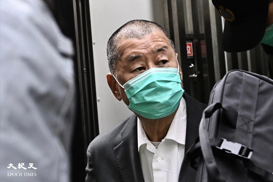 黎智英被控勾結外國勢力等罪 案件押後至七月再訊