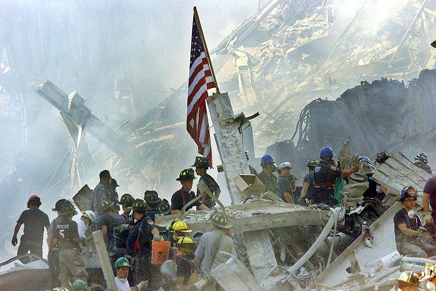 九一一事件從某種程度上也改變了美國和世界局勢,震撼了美國外交和國土安全政策。(BETH A. KEISER/AFP)