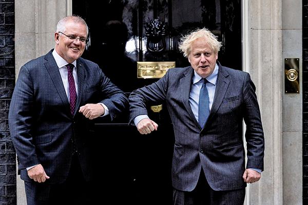 進一步擺脫中國市場 澳洲與英國達成自貿協定