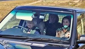 英女皇開心當司機 載凱特去莊園野餐