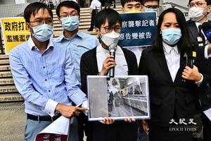 《娛賓》女記者拒捕罪成 裁判官批警長不恰當使用胡椒噴霧