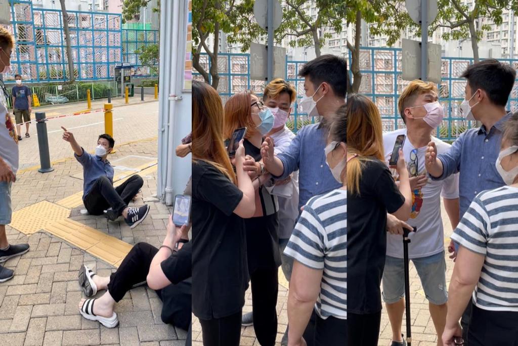 觀塘區議員龔振祺昨(15日)與一對夫婦因瑣事發生爭執,3人被捕指涉嫌在公眾地方打架。(龔振祺Facebook)