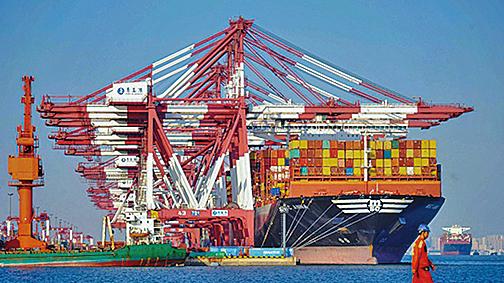 廣東是中國主要航運樞紐,約佔中國出口總額的24%。示意圖(Getty Images)
