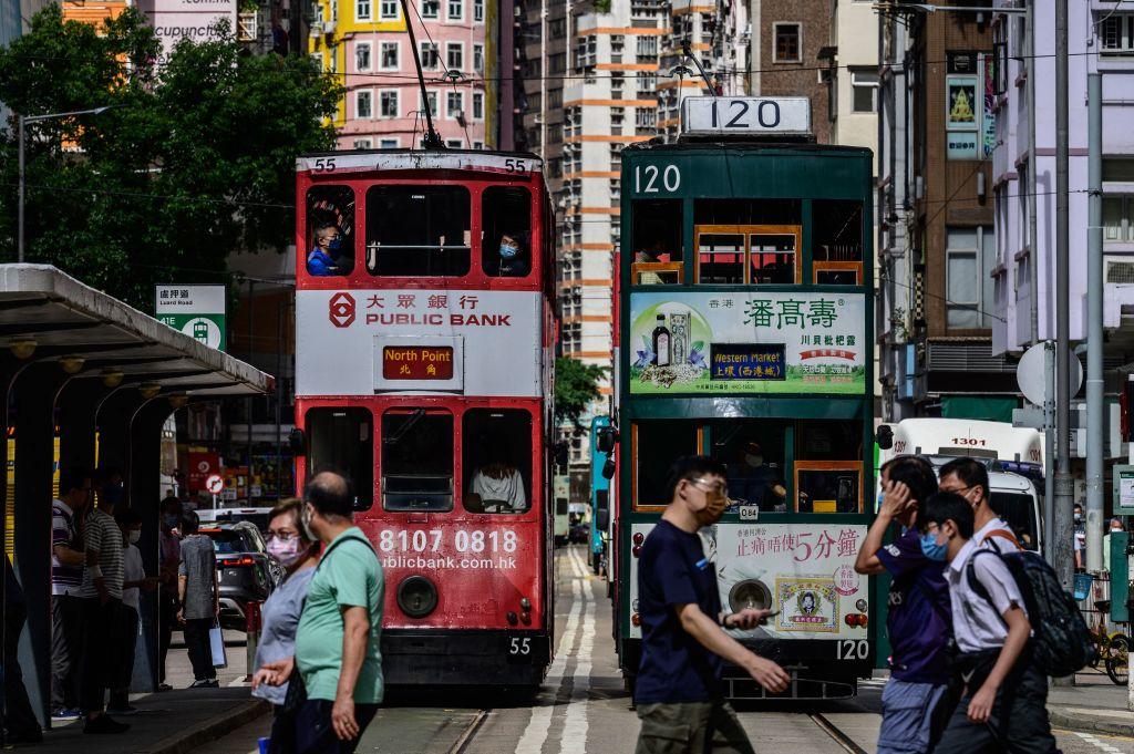 香港今(6月17日)公佈5月失業率為6.0%,按月下降0.4個百分點。(ANTHONY WALLACE/AFP via Getty Images)