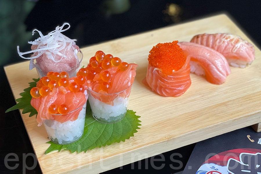 壽司款式非常吸引。(Siu Shan提供)