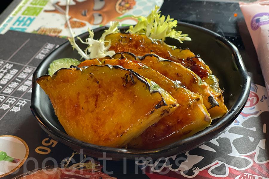 必試燒菠蘿。(Siu Shan提供)
