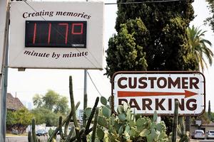 鳳凰城高溫升至攝氏47ºC