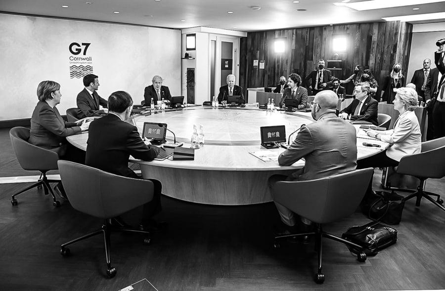 中共降級回應G7聲明 戰狼頹喪
