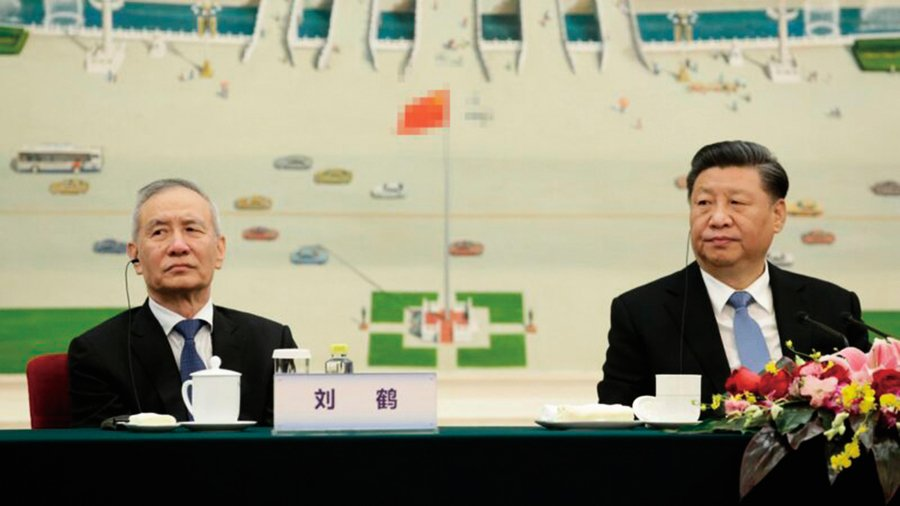 劉鶴權力擴及貿易金融科技 美媒:習近平安排新任務