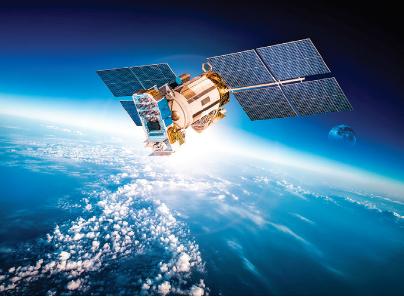 利用衛星導航系統對地震和海嘯進行監測示意圖。(ShutterStock)
