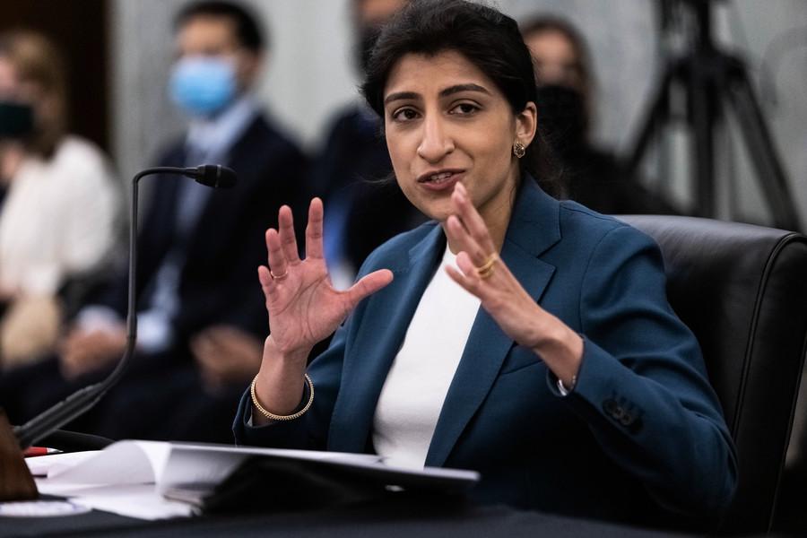准90後女學者任美FTC主席 曾批評科技巨頭壟斷