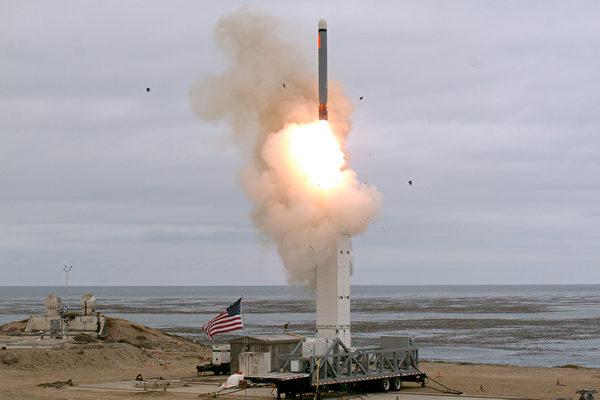6月16日,美俄首腦峰會在核戰爭問題上,雙方重申核戰爭的危害性,並就秉持核戰爭沒有勝利者的原則進行了確認。圖為陸射巡航導彈飛行試驗示意圖。(美國國防部)