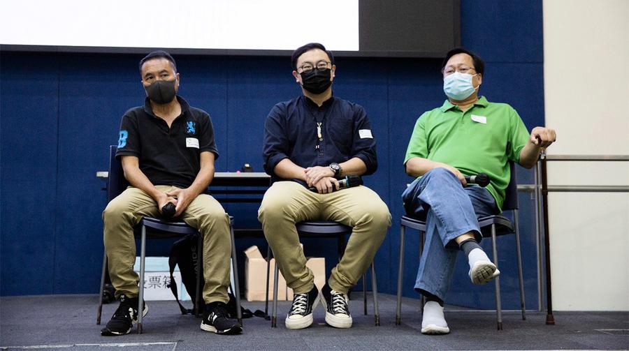 【圖片新聞】李永達當選民主黨副主席