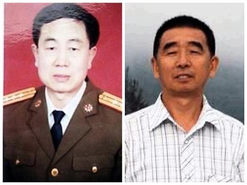 被中共迫害致死的法輪功學員公丕啟(左)呂觀茹(右)。(明慧網)