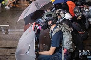 5青年抗爭者乘橡皮艇偷渡台灣  獲安排成功赴美申請政治庇護(更新)【影片】